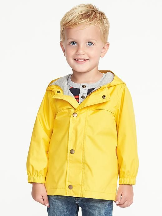 Old Navy Hooded Raincoat for Toddler Boys