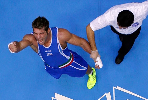 Russo in finale nei pesi massimi. FOTO - Immagini e Fotografia Olimpiche - Tutti i colori di Londra 2012 - Virgilio Sport