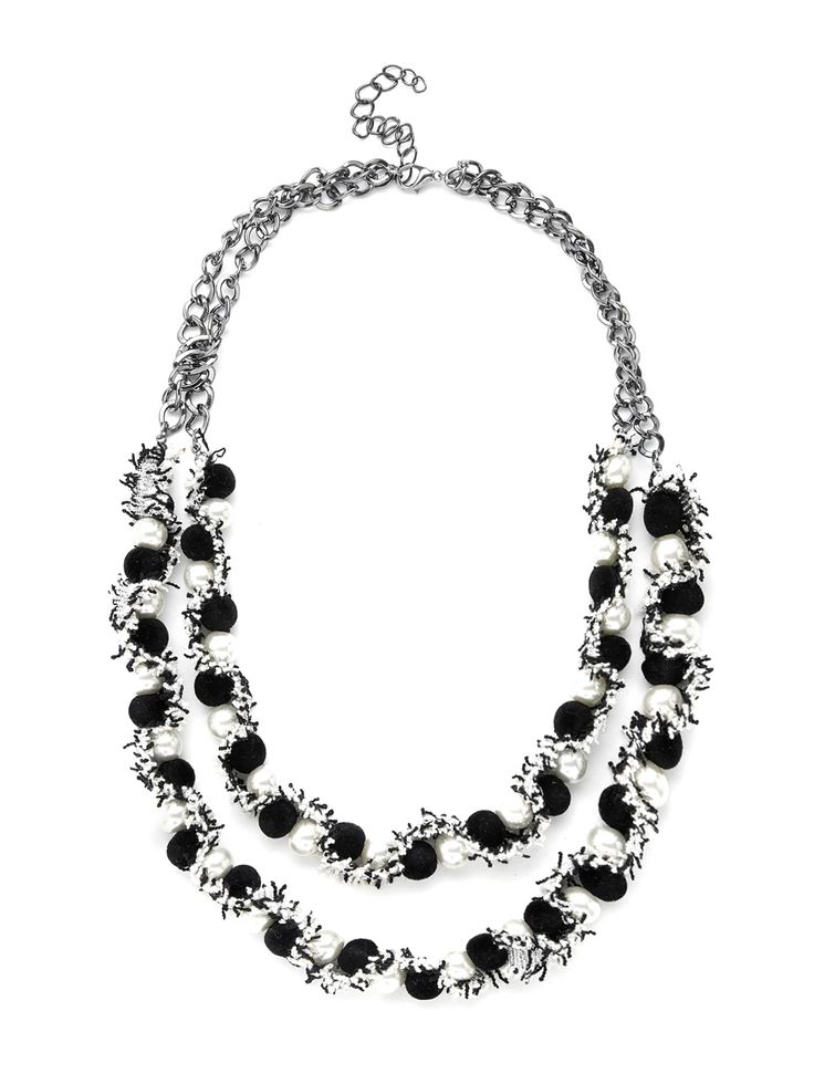 Shop Two Tone Layered Necklace With Faux Pearl online. SheIn offers Two Tone Layered Necklace With Faux Pearl & more to fit your fashionable needs.