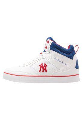 VADIM - Sneakers hoog - white/navy/red