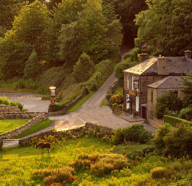 The Rivelin, a pub in the Rivelin Valley, Sheffield, England