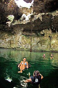 Cenote Maya - Playa del Carmen Tours