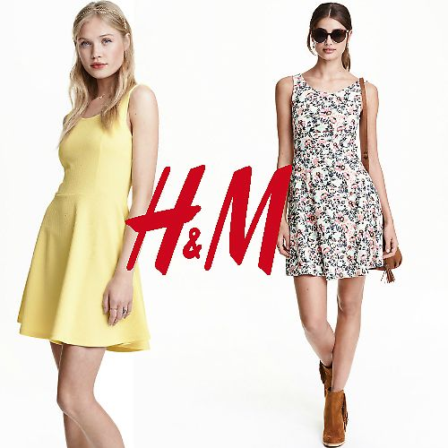 (4 Colors) H&M Sleeveless Dress