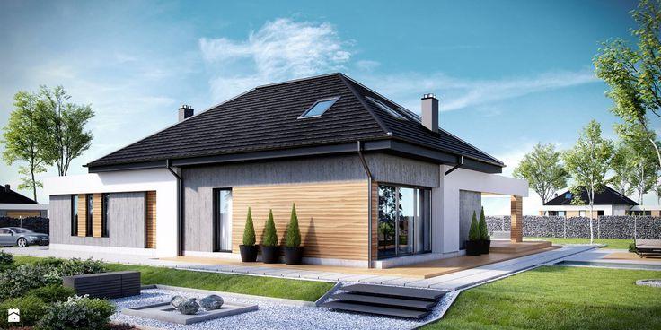 NV-PR-005298 - zdjęcie od Novio.pl Projekty domów - Domy - Styl Nowoczesny - Novio.pl Projekty domów