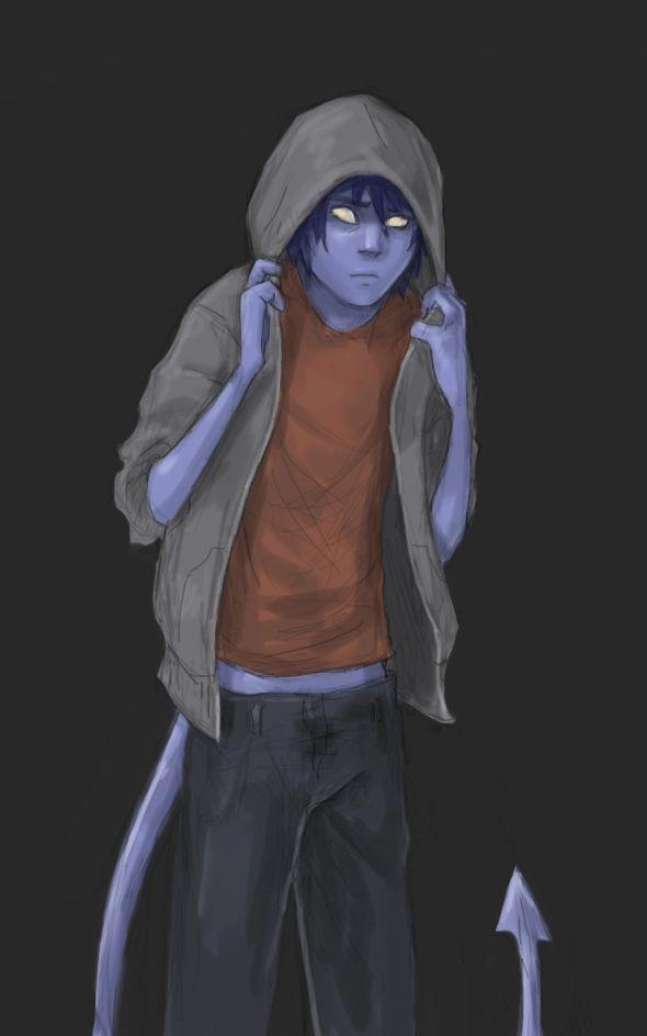 """Dear mom,  Ich einen Jungen treffen sich in den Straßen. Er war blau.Das einzige, was er sagte, bevor Flucht wurde """"Schau nicht""""."""