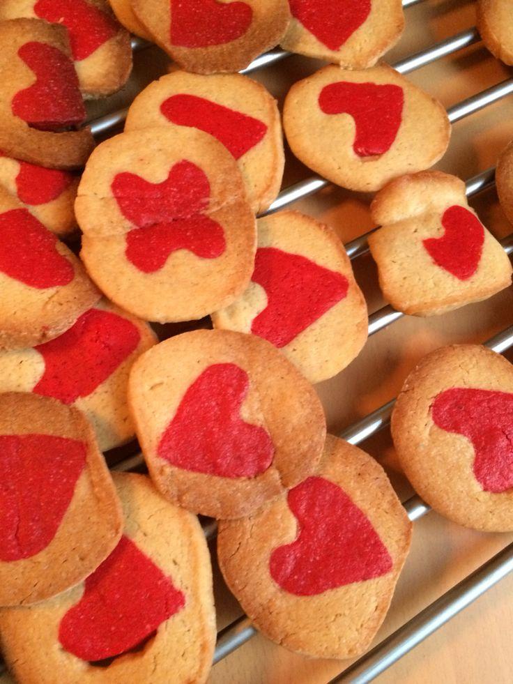 Hjertekager Heart cake