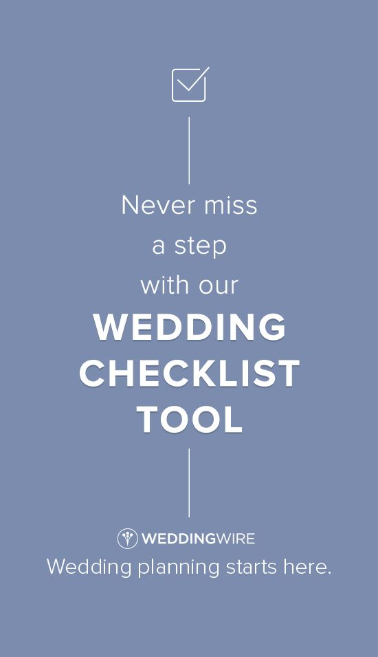 Reduce wedding planning stress with our free checklist tool!
