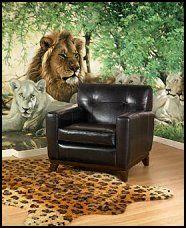 Safari Bedroom Decorating Wild Animal Safari Theme Bedrooms Murals Safari Style Accessories African