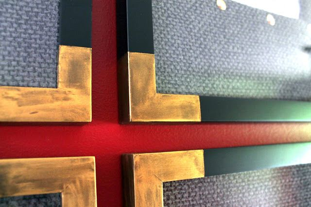 Need to buy some Rub and Buff gold leaf...    using rub 'n buff to dress up picture frames