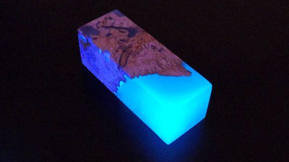 Glow In The Dark Wood dark blue glow in the dark swirls hybrid woodmysticwoodsales