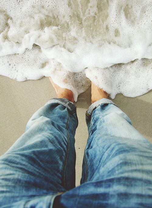 toes in the sand surf