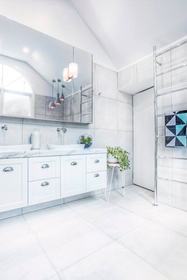 Photos Of Bathroom and Kitchen Renovations and Design Melbourne GIA Renovations Featuring the Madison Velour Towel by