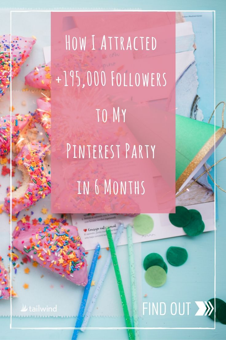 Pinterest is the source of 70% of the Catch My Party blog's traffic.  In the past six months they've added 195,000 Pinterest followers.  Learn 10 tips to Pinterest success from founder, Jillian Leslie who Pins 50-60 times a day, with 70% of those Pins coming from her own website. via @tailwind