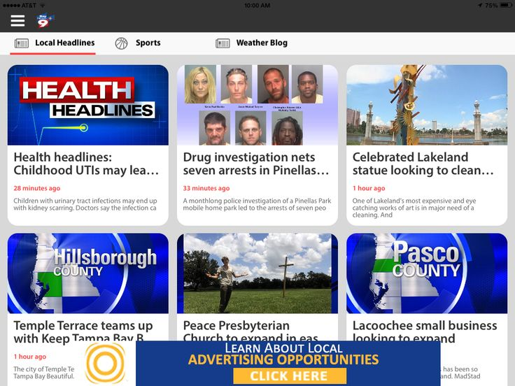 Bay News 9+ mobile app with new upgrades
