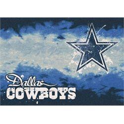 Navy Rug Dallas Cowboys Rug Team Fade Mat