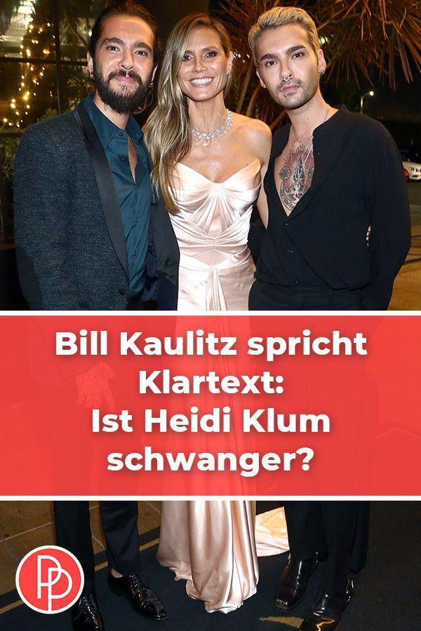 Bill Kaulitz Aussert Sich Zu Heidi Klums Schwangerschaftsgeruchten Heidi Klum Schwanger Klum Heidi Klum
