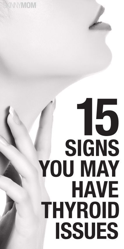 Get the signs of thyroid problems here.