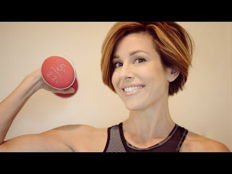 Top 5 Total Body Exercises You Can Do At Home with news anchor Dominique Sachse - YouTube