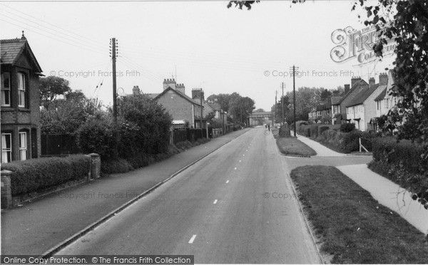 Bicester, Buckingham Road c.1955, from Francis Frith