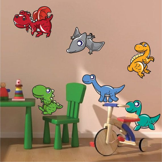 Fresh Dinosaur Wall Decals Dinosaur Peel and Stick Decals by PrimeDecal
