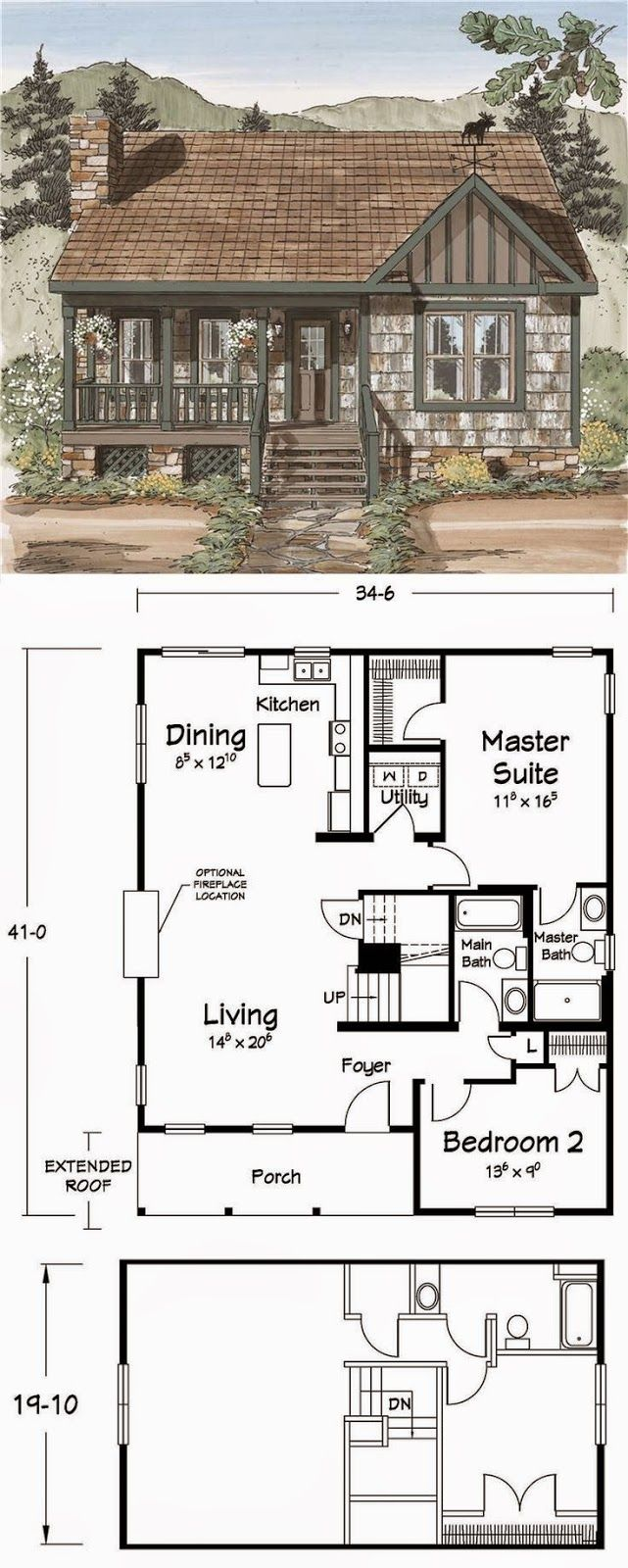 1000 Images About House On Pinterest House Plans Small