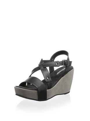 60% OFF Antelope Women's Wedge Sandal (Black)