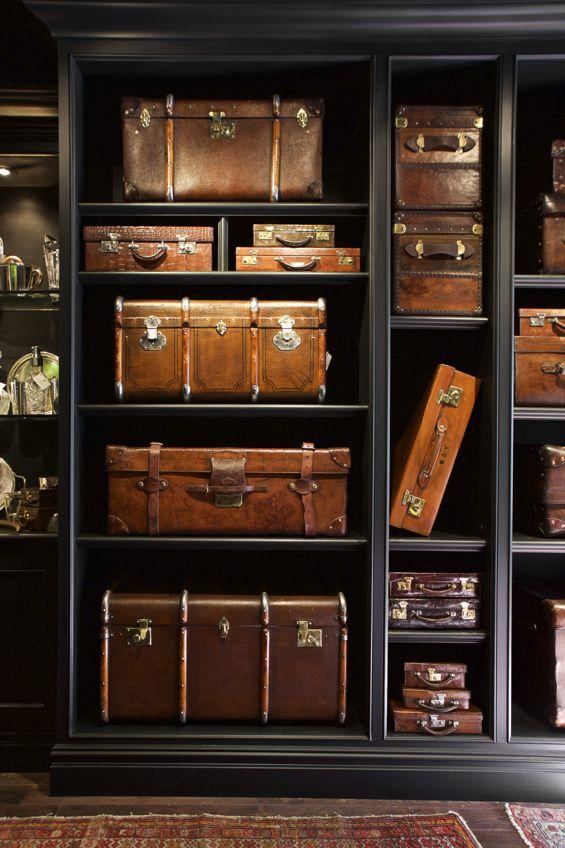 Best 20  Vintage luggage ideas on Pinterest | Suitcase chair ...