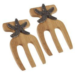 Salad Hands Bamboo With Starfish Accent - North Breeze
