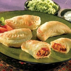 <p>Pages</p><p>Delicious Chicken Empanadas</p><p>Those of you have visited Buenos Aires I think you all have tatsed Empanadas. A delicious pastry stuffed with meat, olives, ham, cheese, spinach, corn and even apples.I am sharing a very simple chicken empanadas recipe with you today hope you will like it.</p><p>INGREDIENTS:</p><p>PROCEDURE:</p><p>Every empanadas recipe starts with the dough. To make the dough first take a bowl beat egg, egg white, water and vinegar together. Keep aside. Now…