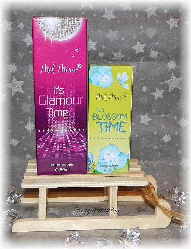 Pzycho Babys kleine Produkttest- und Beautyecke : Mel Merio It's Glamour Time und It's Blossom Time Parfüme