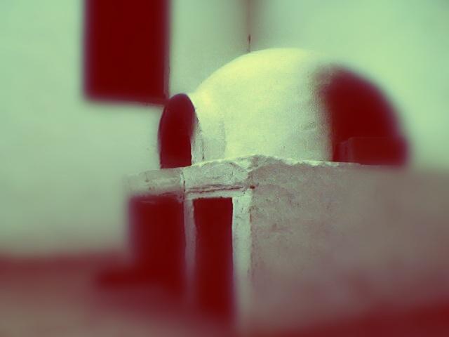 Viejo horno de barro en la Casa de Tucumán.