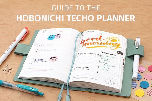 Guide to the Hobonichi Techo Planner - JetPens.com