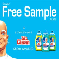 How To Get A $100 Mr. Clean Gift Card - If you need a powerful cleaning products and cleaning solutions, Mr. Clean is a brand name you should consider. Mr. Clean's line of products help people clean faster and easier. If you've been thinking about buying Mr. Clean's products, you should check out this offer. Visit this page, register, take a short survey and be entered to get a $100 Mr. Clean gift card.