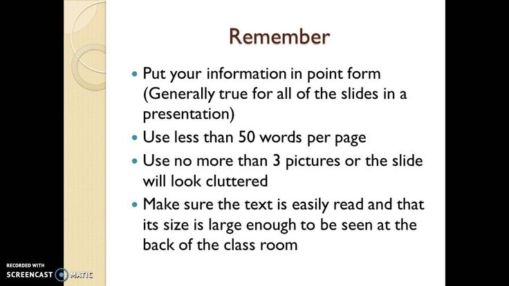 How to format a PowerPoint presentation