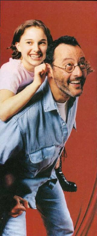 Jean Reno and Natalie Portman