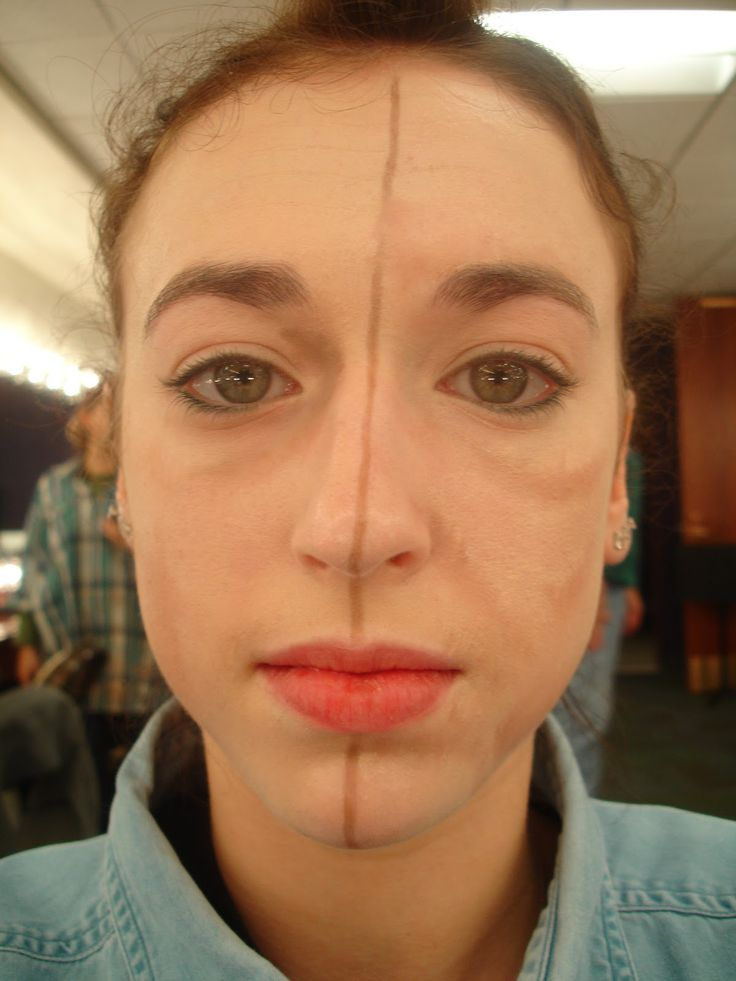 17 Best images about Stage Makeup-Fat/Thin Face on ...
