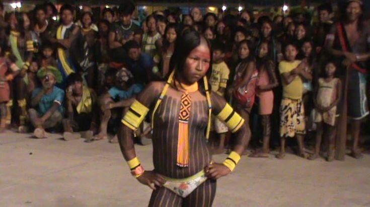 Native American Kayapó , Brazil