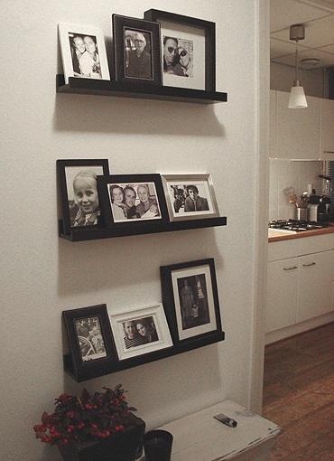 Zwart/wit fotowand