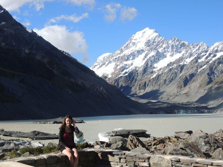 Hooker Glacier and Mount Cook #travel #travelpics #newzealad #mountcook
