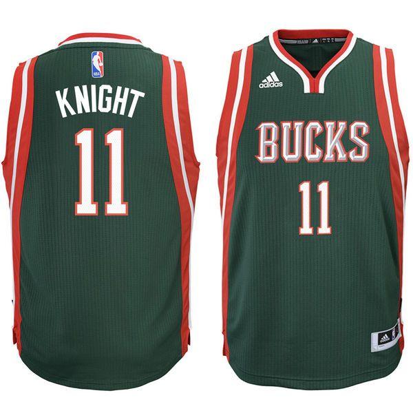 Brandon Knight Milwaukee Bucks Youth Swingman Basketball Jersey - Hunter Green - $37.99