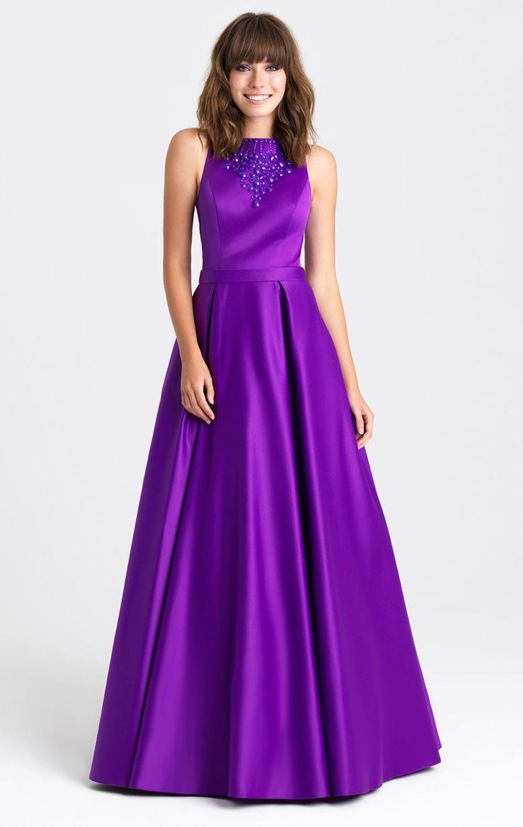 2016 новый вечерние платья пром конкурс платье с совок линия бусины кристаллы сексуальная открытое назад длинные черные фиолетовый атлас