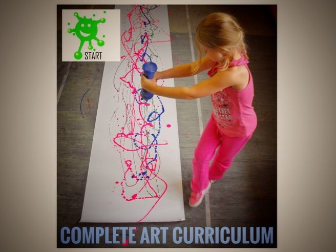 ART. Complete ART CURRICULUM 2018