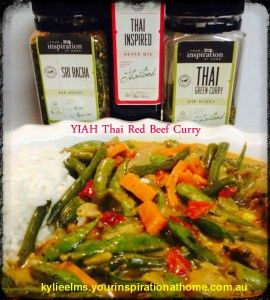 YIAH Thai Red Beef Curry