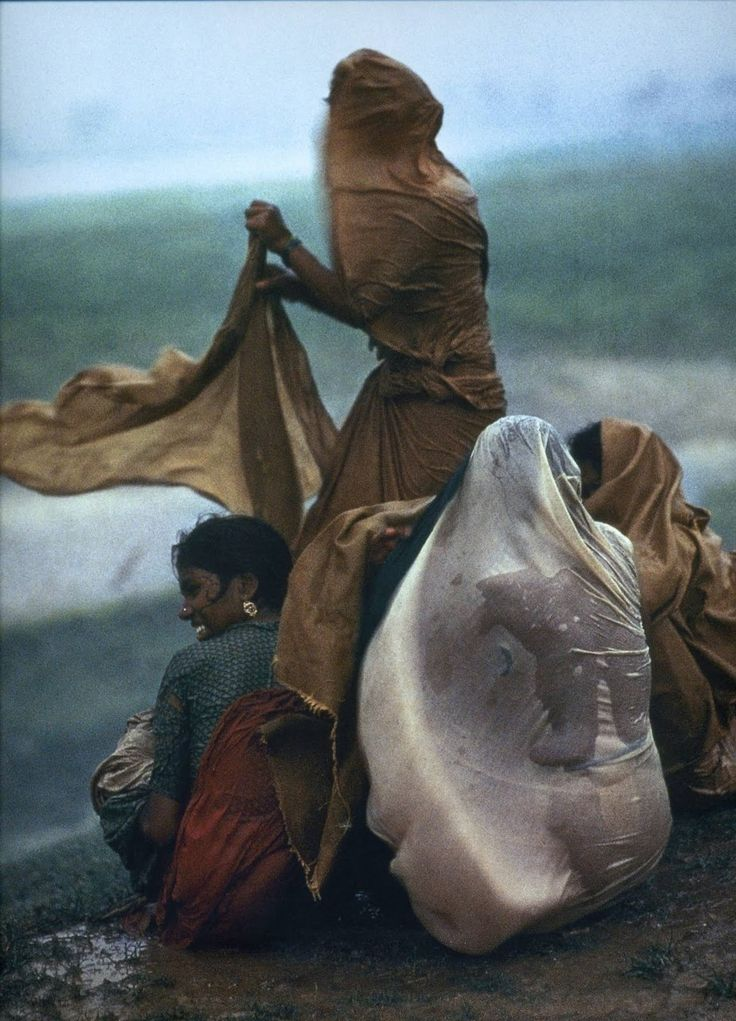 Rain Storm bySteve McCurry Life: The Platinum Anniversary Collection. 70 Years of Extraordinary Photography