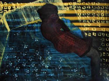 """Saatchi Art Artist Loredana Găină; Painting, """"Abstract Space 1"""" #art"""