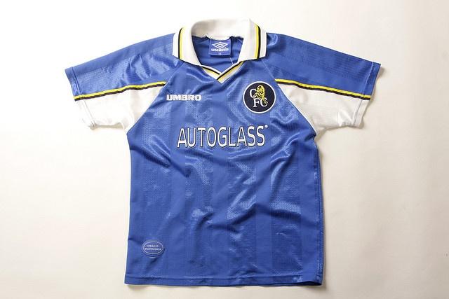 Chelsea Football Shirt (Home, 1997-1999)