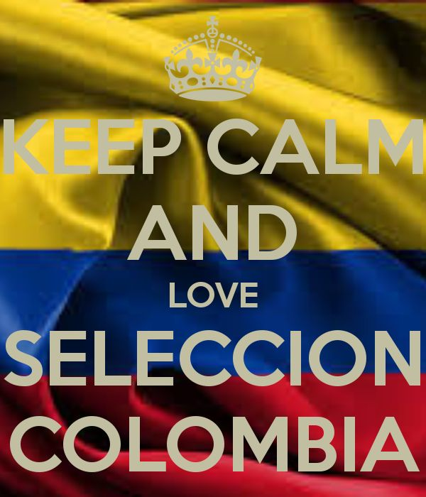 I love Colombia!