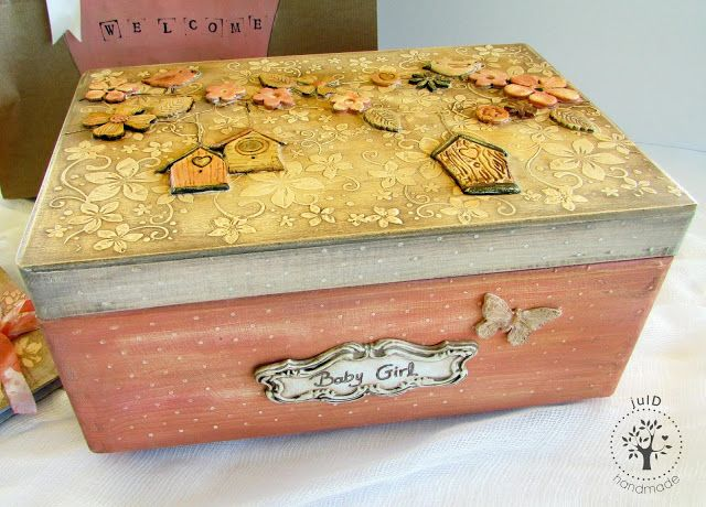 julD handmade: Vintage baby box