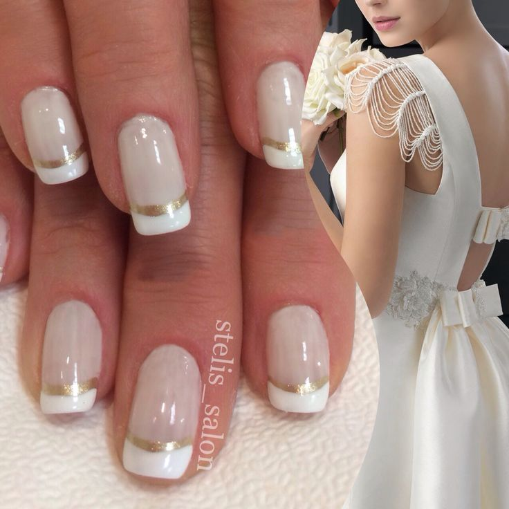 steli's double french manicure