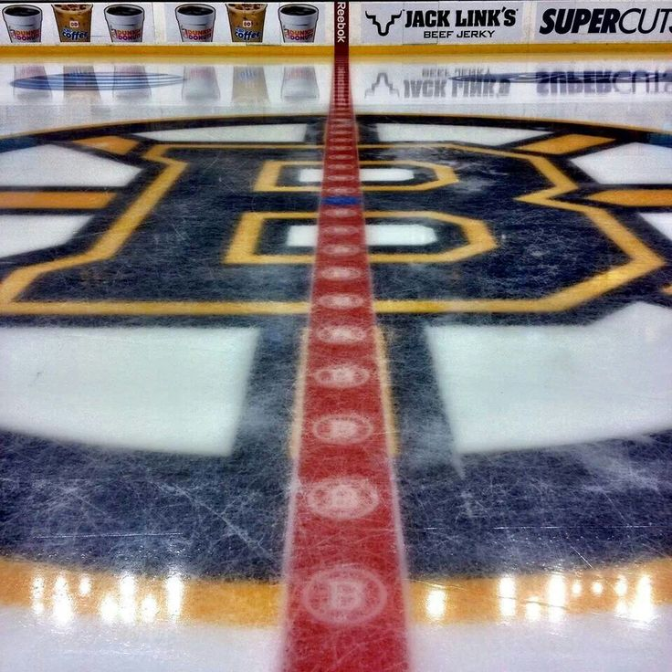 Bruins ice!
